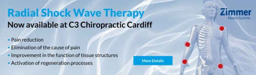 Shock Wave Therapy now available at C3 Chiropractic Cardiff