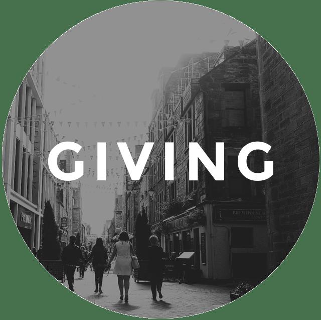 Giving C3 Church Edinburgh