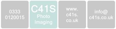 C41s Photo Imaging Logo Header