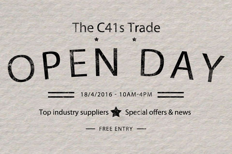 C41s-Trade-open-day-logo