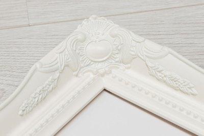 Swept Art Frame - White