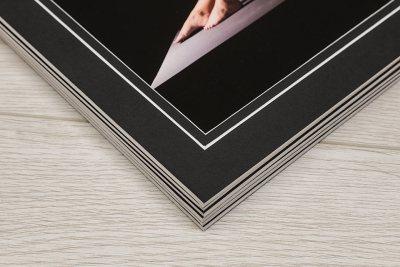 Giclée Art Box - Black Box / Black Mount