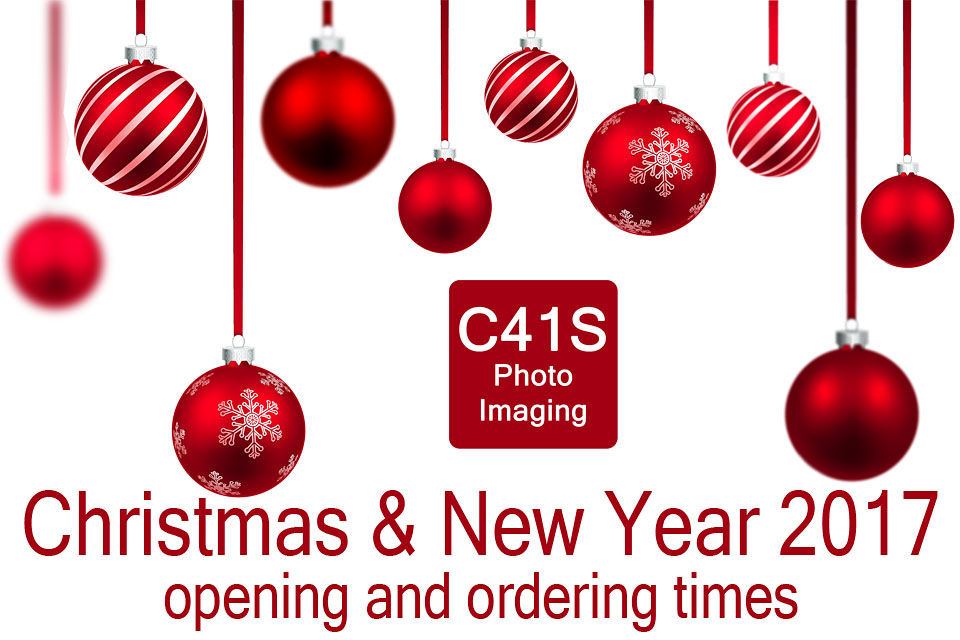 Christmas New Year 2017 at C41s Photo Imaging