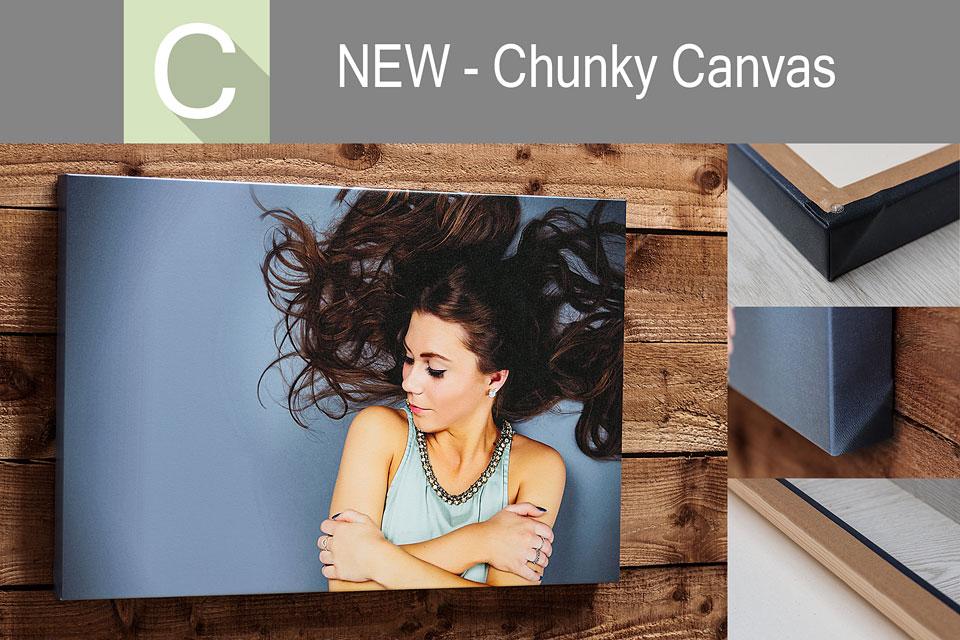 New Chunky Canvas Wrap