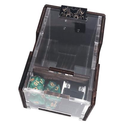deck box card storage game counter
