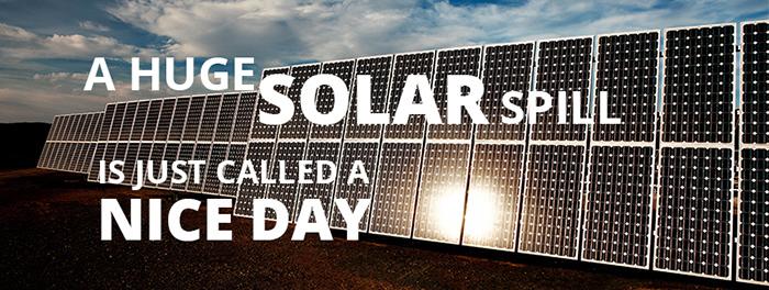 Solar Spill