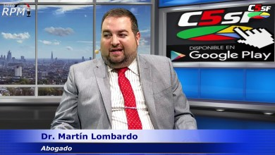 Photo of C5SF –  Dr. Federico Lombardo – Abogado (Estilo RPM 2020) – 02 marzo 2020