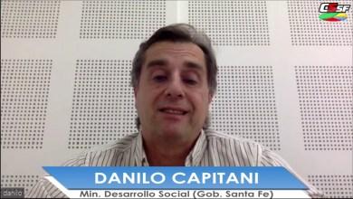 Photo of C5SF –  DANILO CAPITANI – Ministro de Desarrollo Social (Gobierno de Santa Fe) – RICO AL CUADRADO