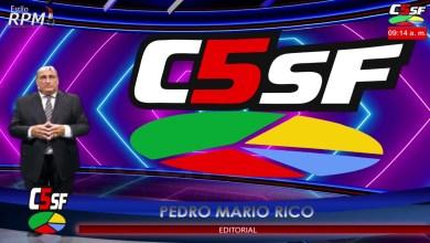 Photo of C5SF –  Pedro Rico – Editorial – Buenas noticias para los jubilados – 11 noviembre 2020