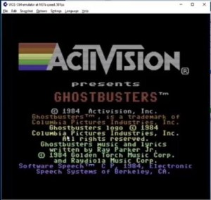 Ghostbusters for Commodore 64