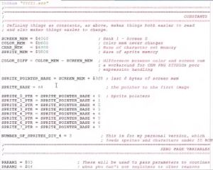 Machine Language Project for C64