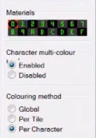 CharPad Materials