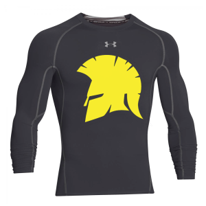 Under Armour Heatgear Armour Long Sleeve Tee Black