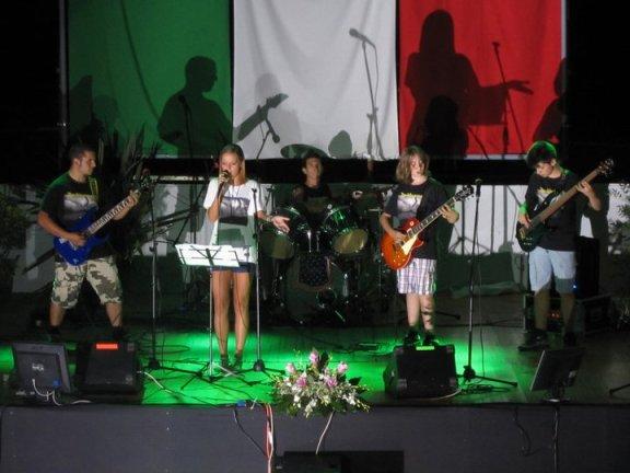 "Esibizione della band ""Anaklusmos"" Estate Arci 2011"