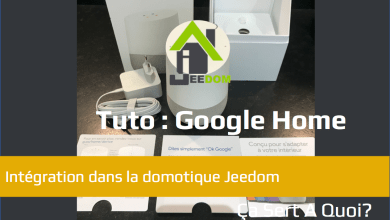 Photo de Tuto : Utiliser Google Home avec la domotique Jeedom