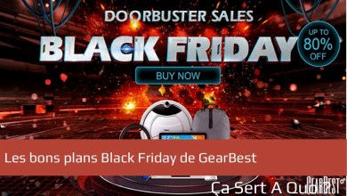 Photo de Black Friday 2017 chez Gearbest