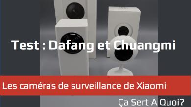 Photo de Test : Les caméras de surveillance Xiaomi Dafang et Xiaomi Chuangmi