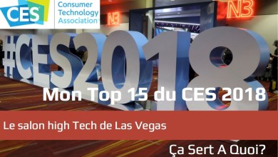 Photo de Mon Top 15 du CES 2018
