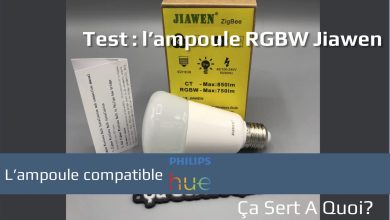Photo of Test : Ampoule RGBW Jiawen compatible Philips HUE