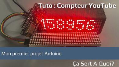 Photo of Tuto : mon premier projet Arduino, un compteur Youtube