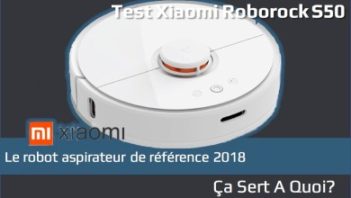 Photo de Test : Robot aspirateur Xiaomi Roborock S50