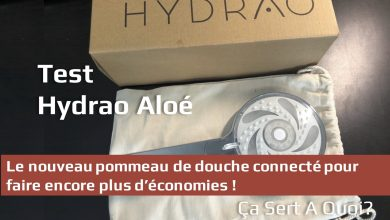 Photo de Test : Hydrao Aloé le pommeau de douche connecté