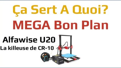 Photo de MEGA Bon plan : l'imprimante 3D Alfawise U20 à 225€