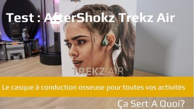 Photo of Test : le casque à conduction osseuse AfterShokz Trekz Air