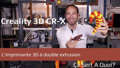 Photo de Test : L'imprimante 3D Creality3D CR-X