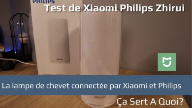 Photo de Test : Lampe de chevet Xiaomi Philips Zhirui