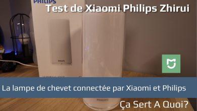 Photo of Test : Lampe de chevet Xiaomi Philips Zhirui