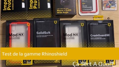 Photo de Test : La gamme de produit Rhinoshield