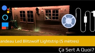 Photo de Bandeau Led Blitzwolf Lightstrip
