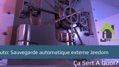 Photo de Tuto: Sauvegarde automatique externe Jeedom