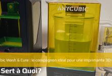 Photo de Anycubic Wash & Cure : le compagnon idéal pour une imprimante 3D résine