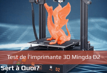 Photo of Test : Imprimante 3D Mingda D2