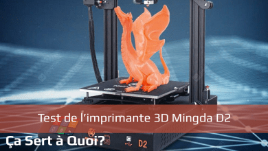 Photo de Test : Imprimante 3D Mingda D2