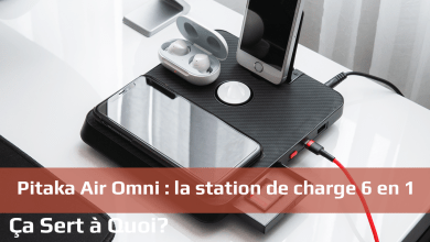 Photo de Pitaka Air Omni : la station de charge 6 en 1