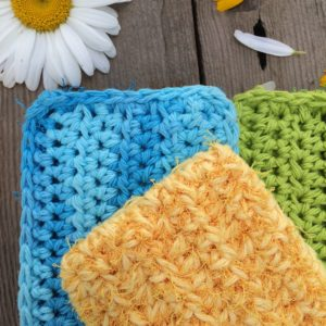 Crochet Kitchen Scrubby Pattern Quick And Easy Pattern For Beginners
