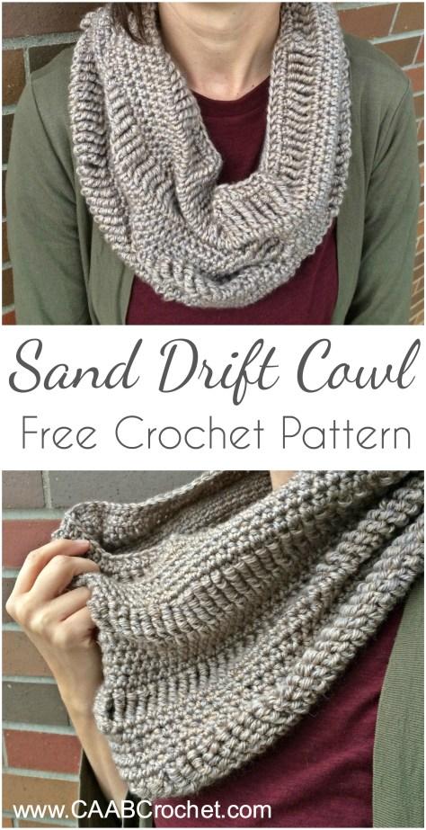 cowl pattern sand drift