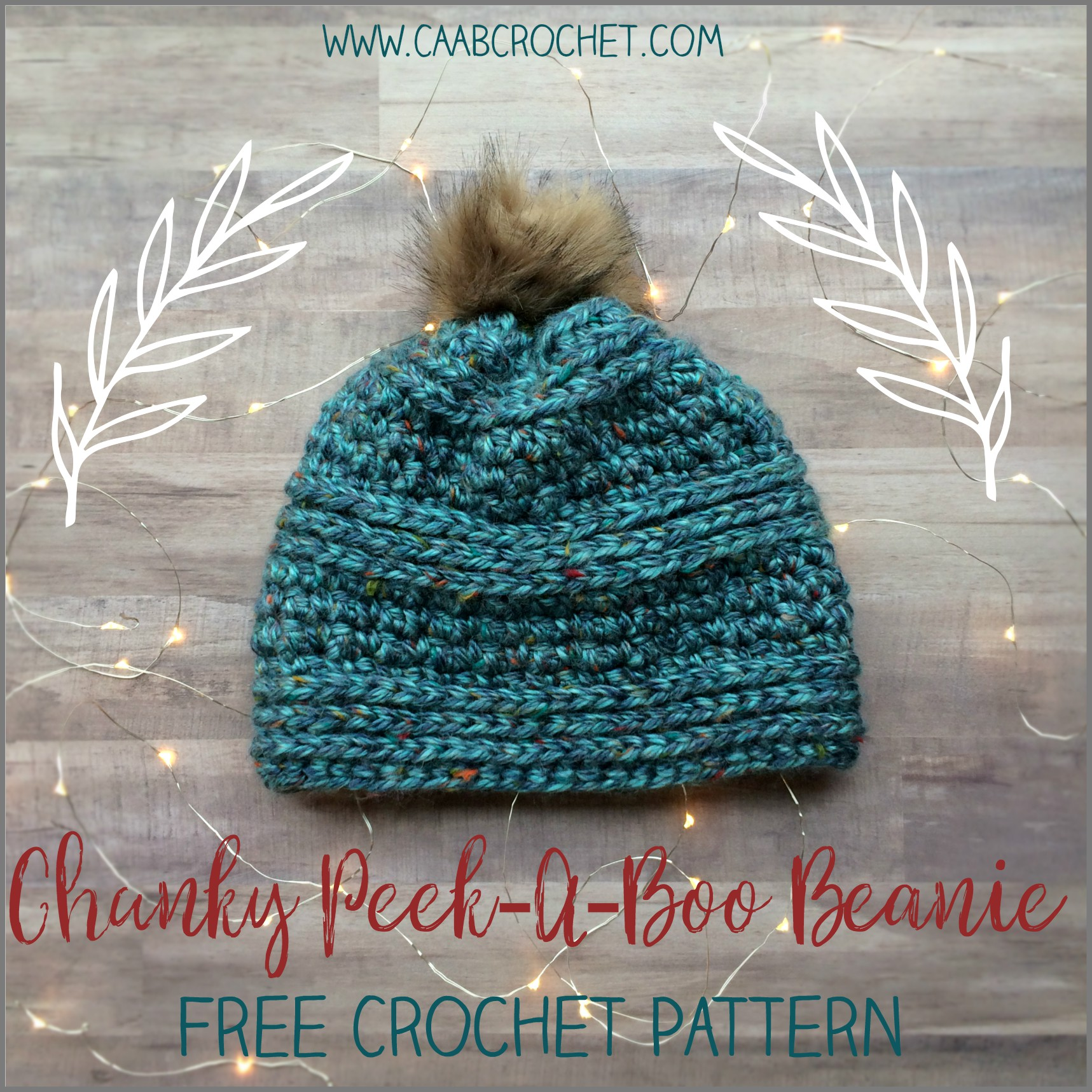 green hat Thick Crocheted Hat in Teal soft hat winter hat chunky hat thick hat teal hat