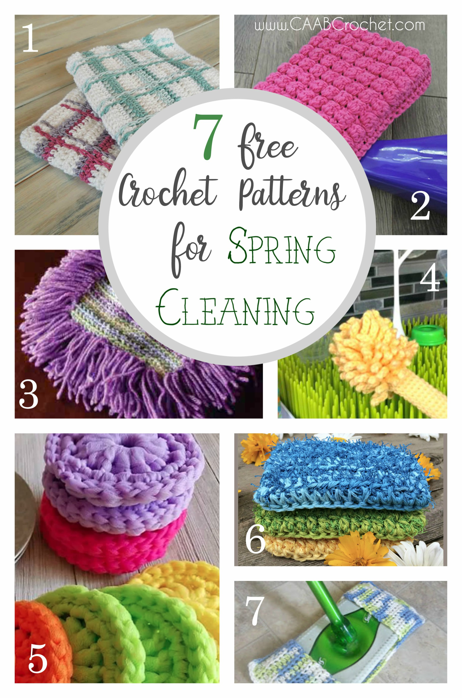 7 Reusable Crochet Patterns For Spring Cleaning Free Crochet Patterns