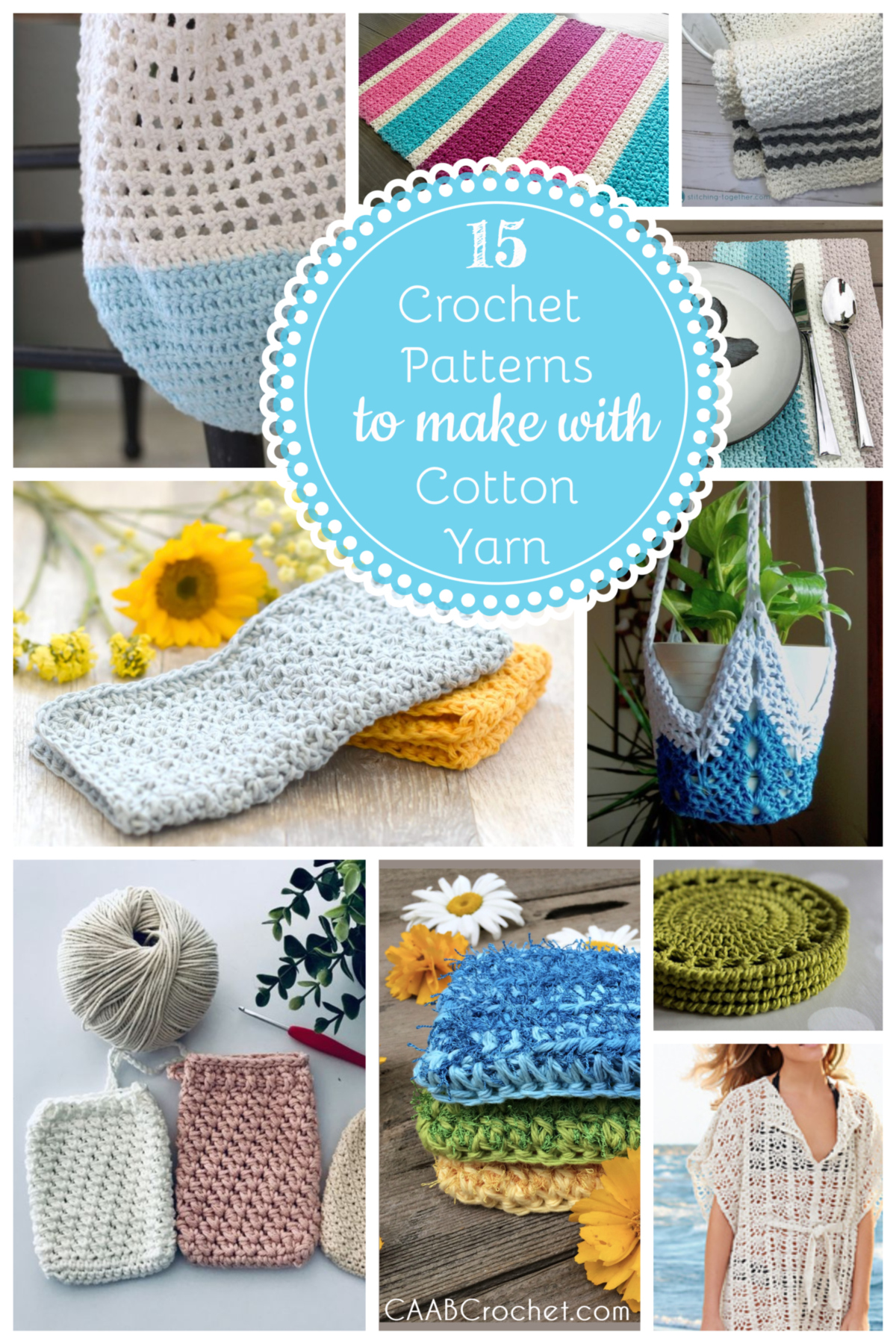 15 Crochet Patterns To Make With Cotton Yarn Cute As A Button