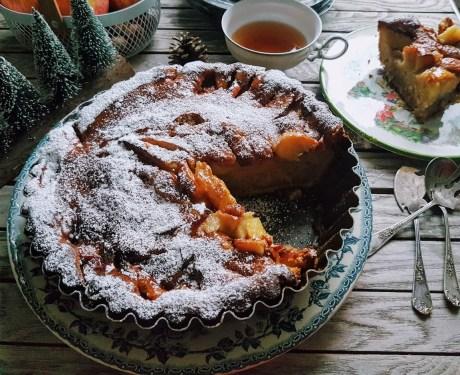 caaleyrebon gâteau-fondant-pommes-mascarpone sans beurre