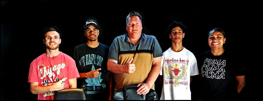 Photo of the CAAMA Sports Show Panel