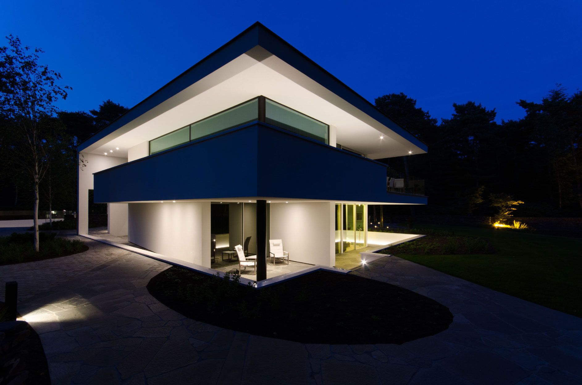 Ultramodern Noord Brabant House By Dpl Europe Caandesign Architecture And Home Design Blog