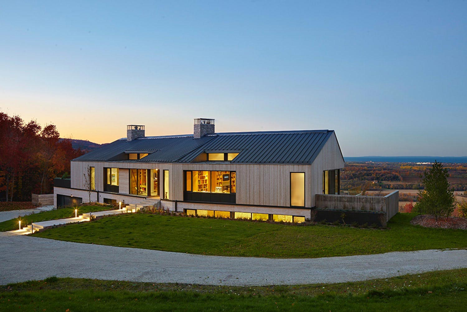 Contemporary interpretation of a traditional home inspired ... on Modern Style Houses  id=97951