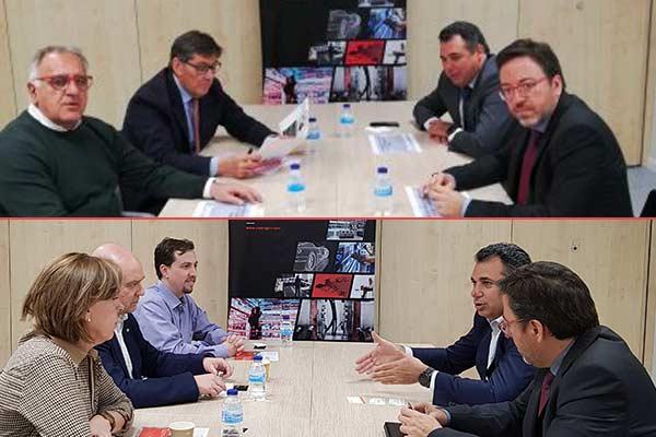 Reuniones con partidos políticos ante las elecciones autonómicas
