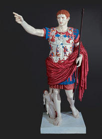 Reconstruction of original polychromy of the Augustus of Prima Porta (2002–3)