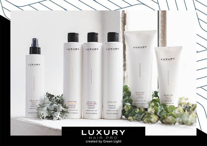 cura dei capelli luxury hair pro by green light